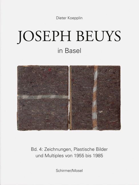 Joseph Beuys in Basel<BR>Band 4