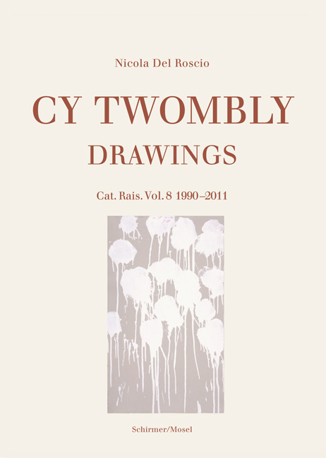 Catalogue Raisonné of Drawings<BR>Vol. 8: 1990-2011